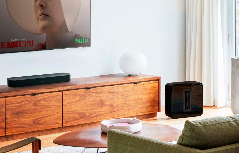 Sonos Beam с сабвуфером