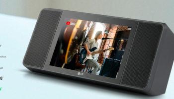 WK9 смарт-дисплей от LG c качественной акустикой