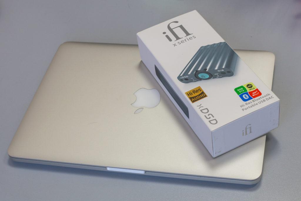 Упаковка iFi xDSD