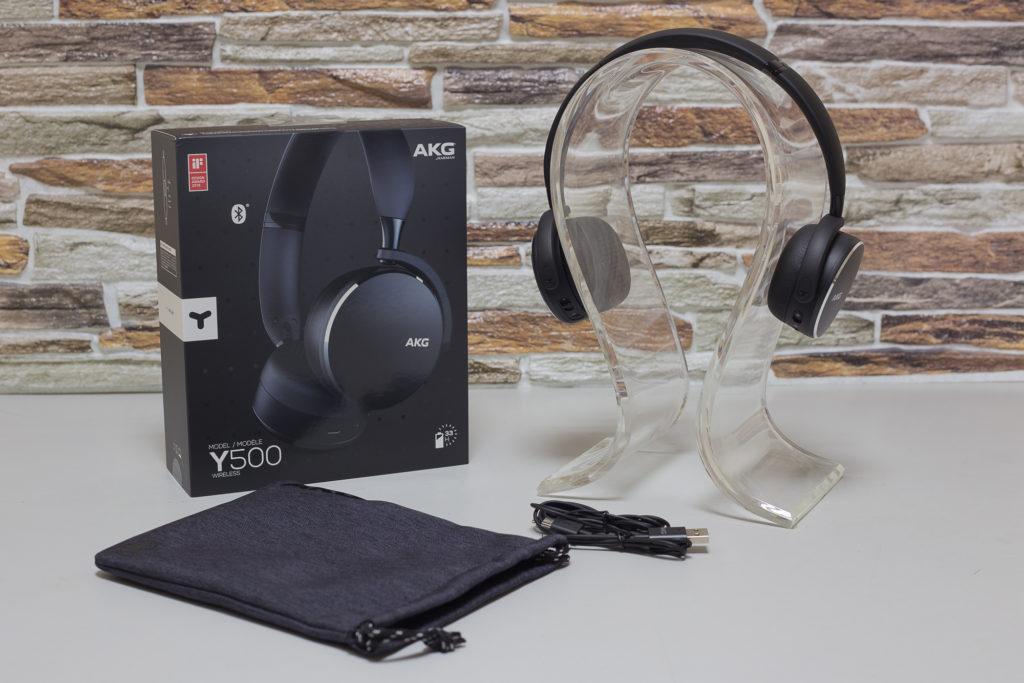 Комплектация наушников AKG Y500
