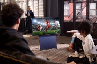 Интерьерный телевизор Samsung серии Sero
