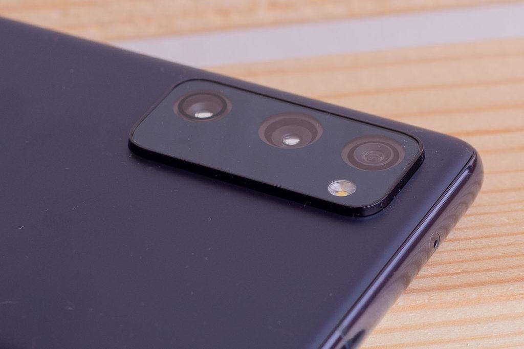 Блок с камерами Samsung Galaxy S20 FE